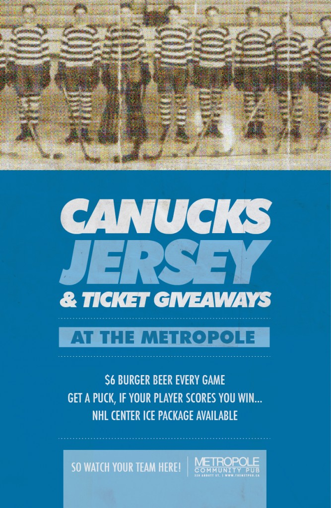 Canucks Jersey & Ticket Giveaways